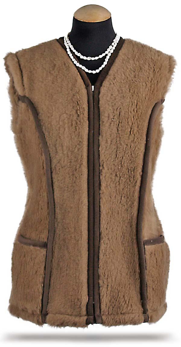 8b7dd5727a84 Dámska luxusná vlnená vesta s kašmírom